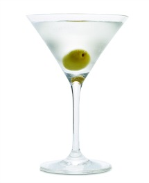 Hot & Dirty Martini