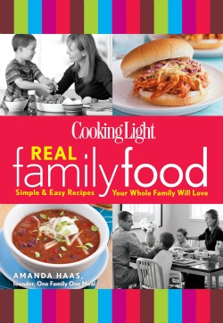 Cooking LIght Real Family Foods