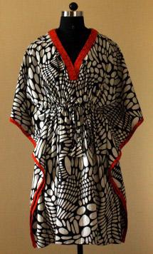 Kaftan birth gown