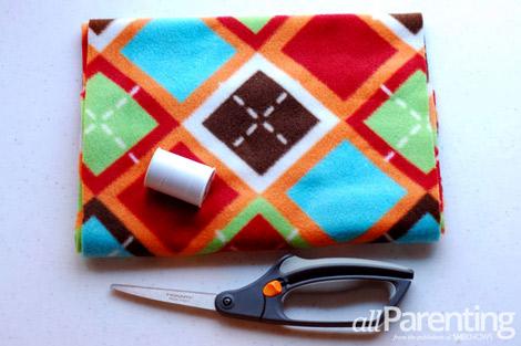 fleece scarf materials