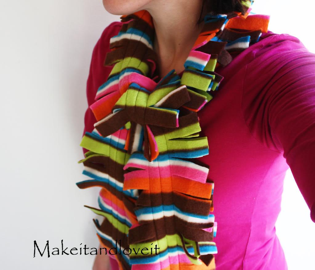 Original fleece scarf image