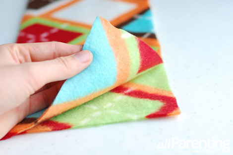 fleece scarf step 3