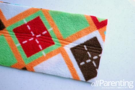 fleece scarf step 6