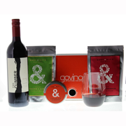 Glasses and Red Blend Gift Set