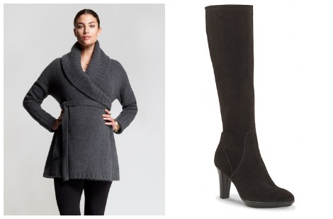 Kate Middleton tunic and boots