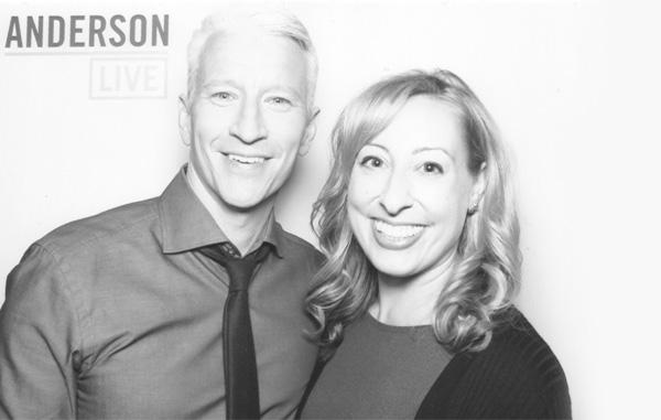 Anderson Cooper and Jamie Beckman