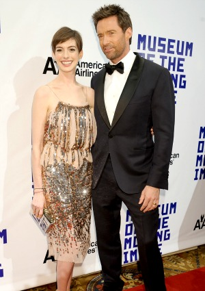 Anne Hathaway, Hugh Jackman