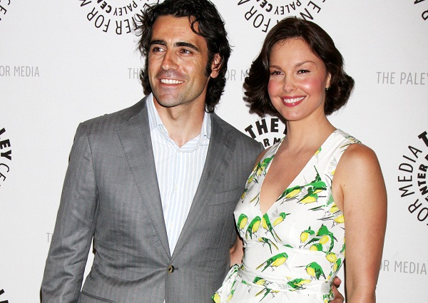 Ashley Judd and hubby