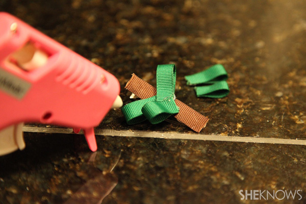 Glue to barrette