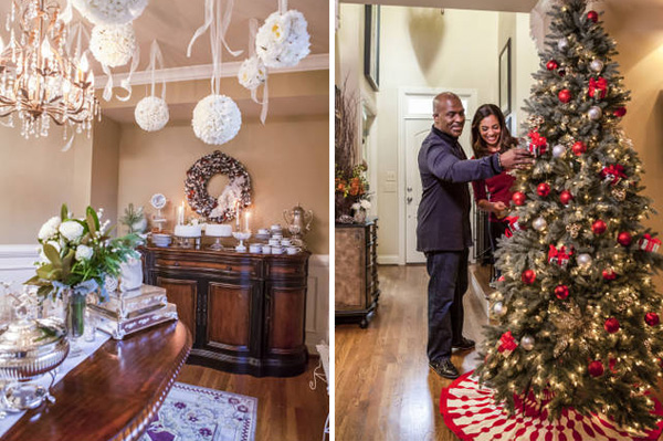 Celebrity holiday decor