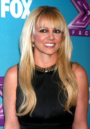 Britney Spears at X-Factor finals
