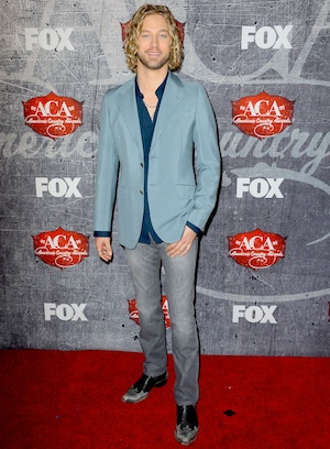 Casey James at the American Country Awards.