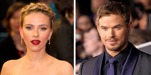 Scarlet Johansson and Kellan Lutz