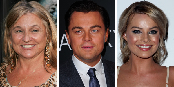 1. Leonardo DiCaprio and Margot Robbie