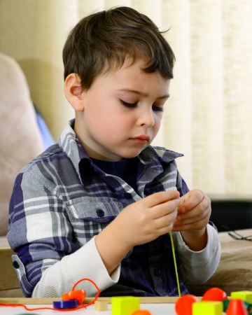 Child with Asperger's Syndrome
