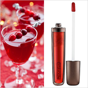 Cranberry punch & Hourglass