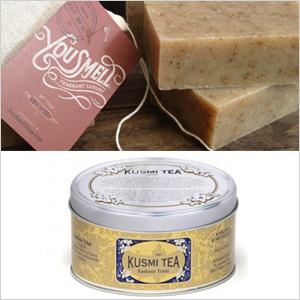 Kusmi Tchai & You Smell Soap