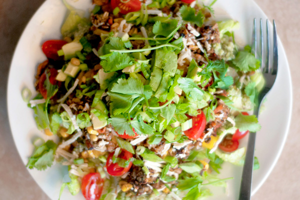 Cilantro lime rice burrito bowls recipe