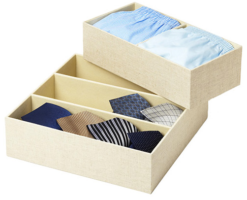 Linen Drawer Organizers from the Container Store