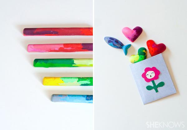 DIY crayon fun kids (and you!) will love