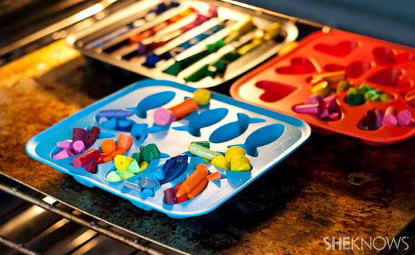 DIY crayons -- step 4