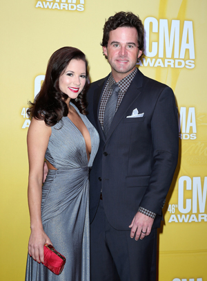 David Nail with wife Catherine