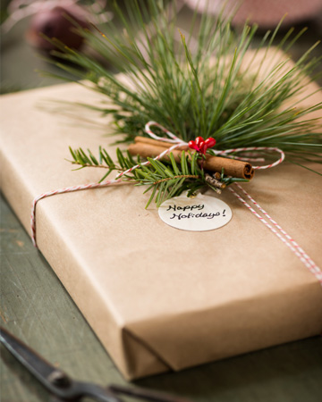 Wrap it up — the green way #1: diy eco friendly christmas t vert