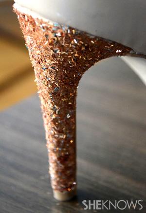 heel closeup