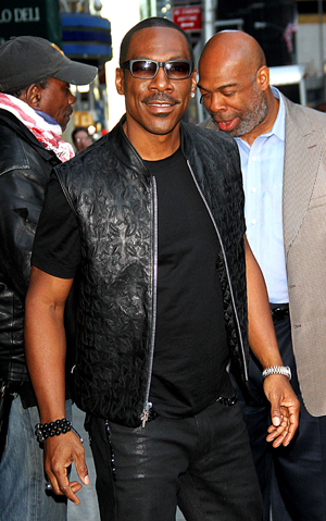 Eddie Murphy leaves The Tonight Show