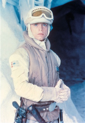 Luke Skywalker in The Empire Strikes Back
