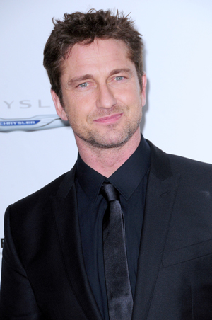 Gerard Butler at the Playing for Keeps premiere