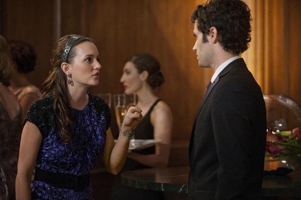 Blair and Dan arguing