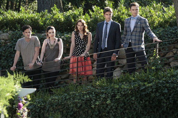 Gossip Girl cast in Central Park