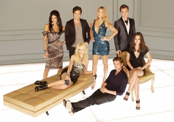 Gossip Girl key art