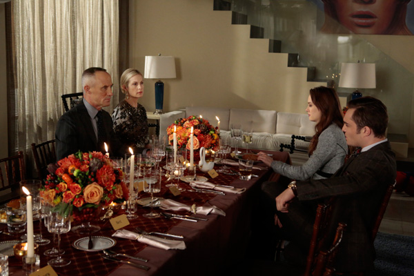 How did Thanksgiving rank on Gossip Girl?