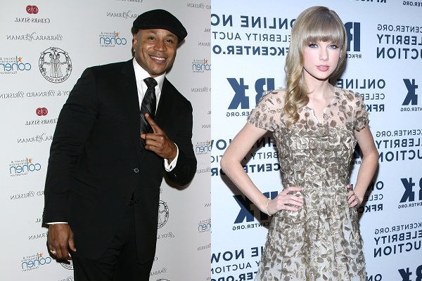 Grammy Nomination hosts LL Cool J and Taylor Swift