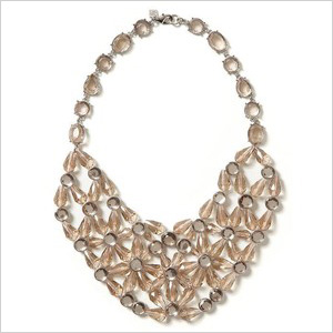 sparkle statement necklace