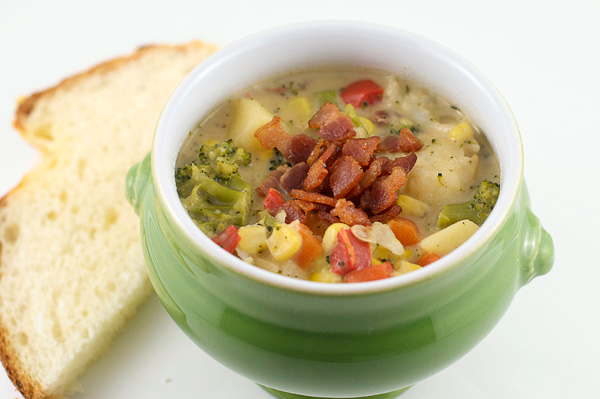 coconut vegetable chowder parsnip chowder corn chowder potato chowder ...