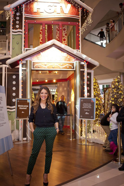 Sabrina Soto at the HGTV Holiday House