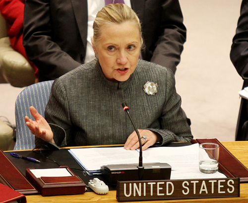 """Her """"diplomatic illness"""" looks serious"""
