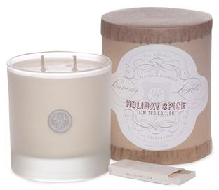 Linnea's Lights Holiday Spice Candle ($30)