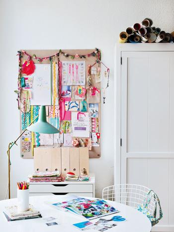 Holly Becker -- craft room