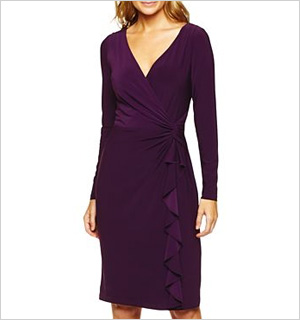 eggplant dress