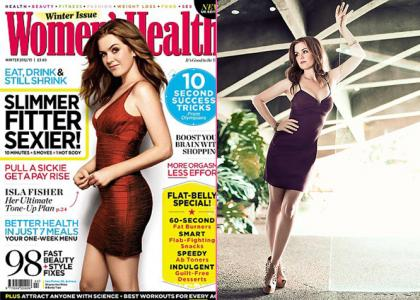 Isla Fisher on Women's Health UK