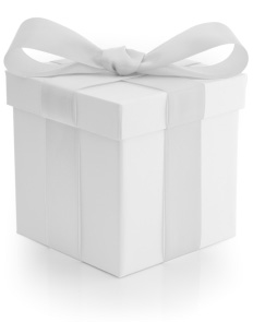 White gift