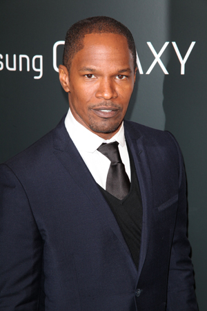 Jamie Foxx at Django Unchained premiere