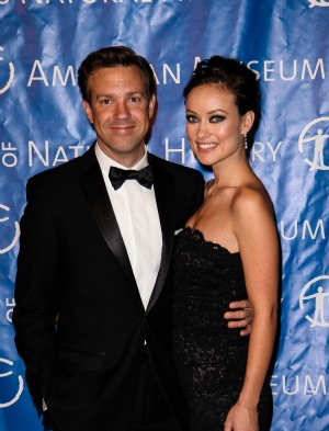 Jason Sudeikis with beautiful, Fiancée