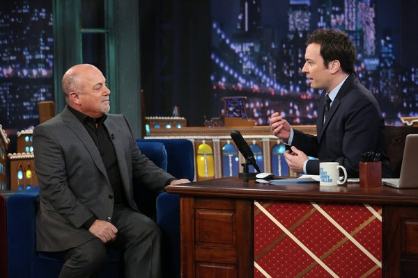 Jimmy Fallon interviews Billy Joel