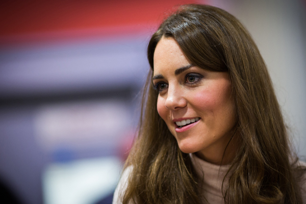 When is Kate Middleton due?