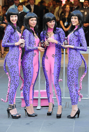 Katy Perry launches Purr